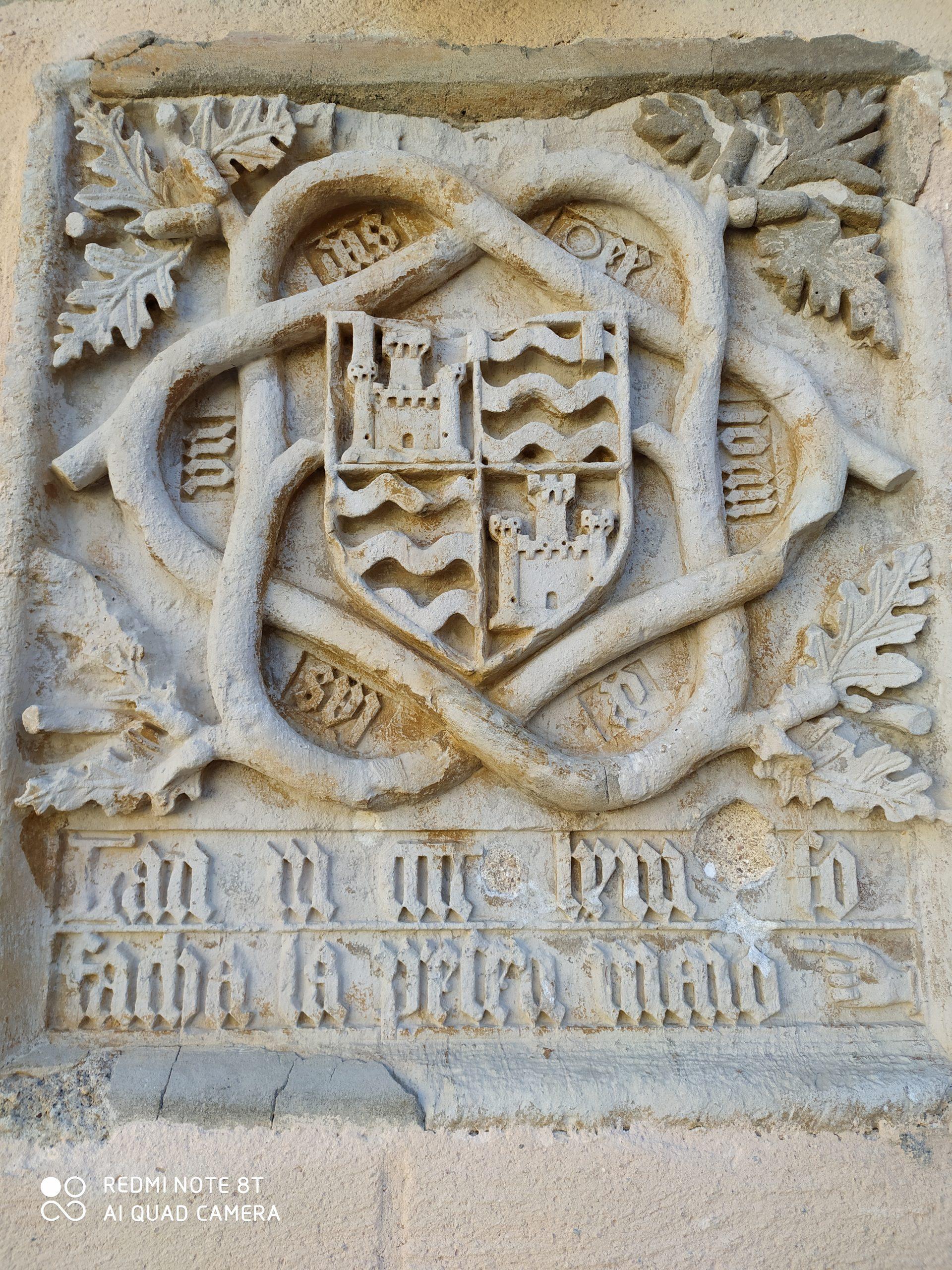 Pierre du château de La Coste à Mayran