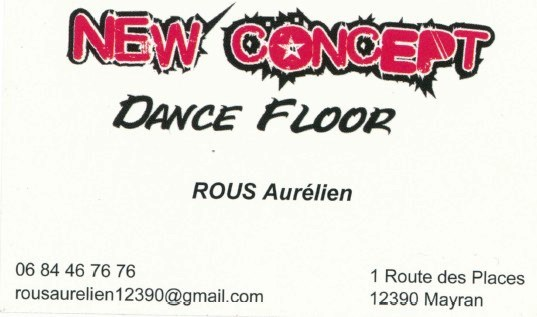 Carte de visite de ROUS New dance floor