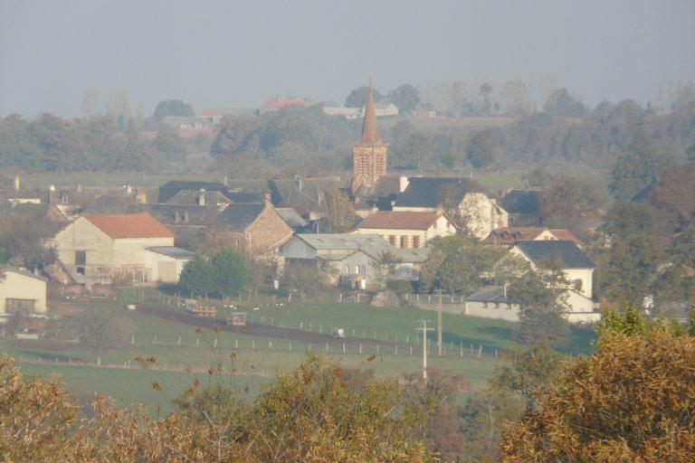 Vue aérienne - Hameau Le Bourg