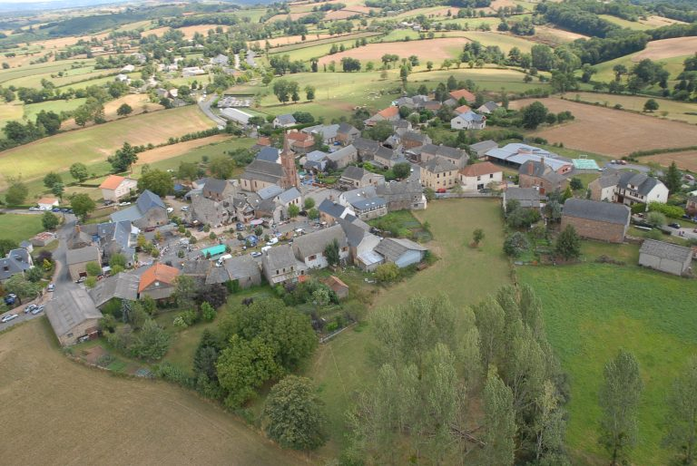 Vue aérienne de Mayran