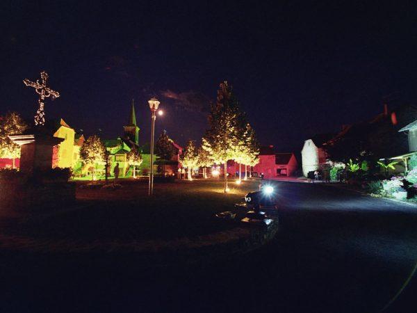 Illuminations du centenaire de Mayran