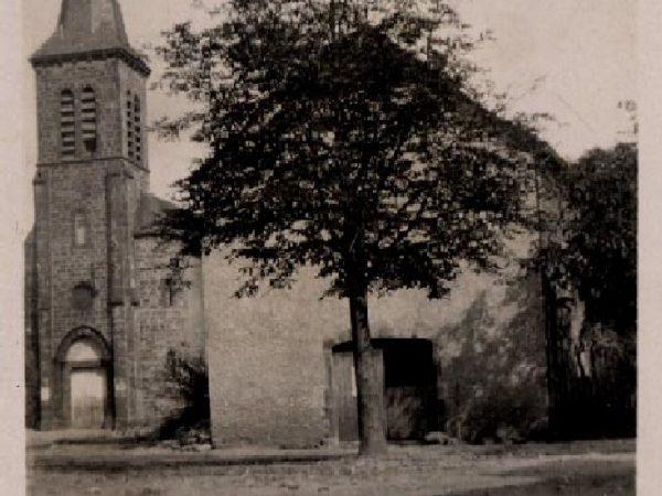 Eglise de Mayran avant l'incendie en 1952