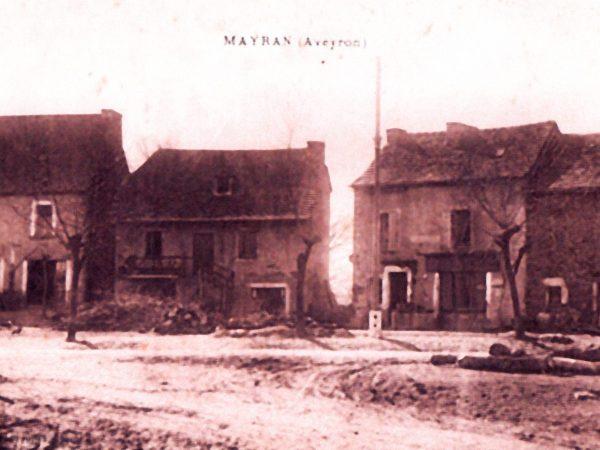 Place de Mayran en 1907